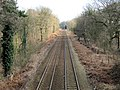 Looking towards Delamere Station - geograph.org.uk - 1752350.jpg