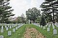 Looking west across Section 18 - Argonne Cross - Arlington National Cemetery - 2011.JPG