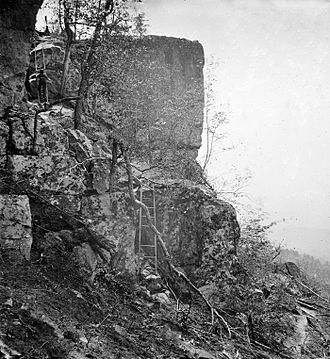 Battle of Lookout Mountain - Summit of Lookout Mountain, c. 1864