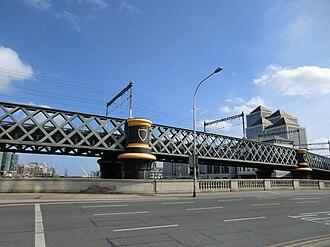 Loopline Bridge - Loopline Bridge, view from Butt Bridge