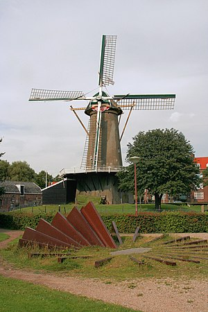 Loosduinen - The windmill of Loosduinen.