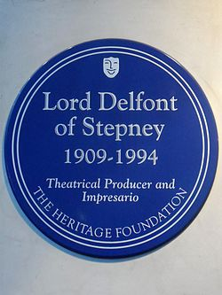 Lord delfont of stepney 1909 1994 theatrical producer and impresario