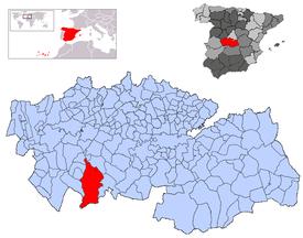 Resultado de imagen de mapa los navalucillos