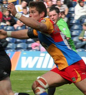 2011 St Helens RLFC season - Louie McCarthy-Scarsbrook in action for Harlequins in 2010