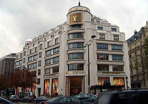 Louis Vuitton, Champs-Elysées Paris 2006. Auth...