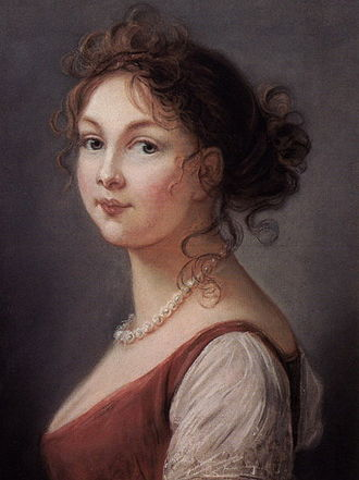 Order of Louise - Queen Louise of Prussia, for whom the Order of Louise was named. Portrait by Elizabeth Vigee-LeBrun, 1801
