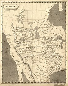 Map Of Louisiana Territory.Louisiana Purchase Wikipedia