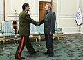 Lt. Gen. Fahd Jasem al-Freij meeting Ali Larijani (1).jpg