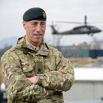 Tim Radford (British Army officer) - Lieutenant General Tim Radford CB DSO OBE