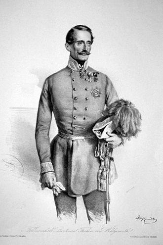 Battle of Pered - Ludwig von Wohlgemuth