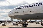 Lufthansa Cargo, McDonnell Douglas MD-11F, D-ALCL - FRA (19309902798).jpg