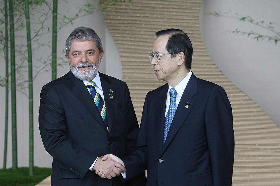 Luiz Inacio Lula da Silva and Yasuo Fukuda 20080709