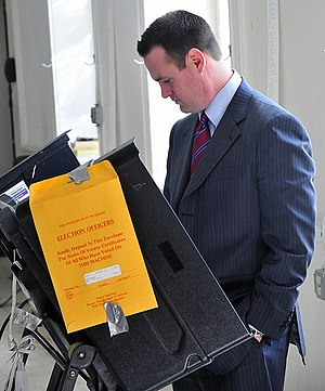 English: Mayor of Pittsburgh, Luke Ravenstahl ...