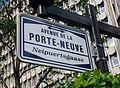 Luxembourg, avenue de la Porte-Neuve, nom de rue.jpg
