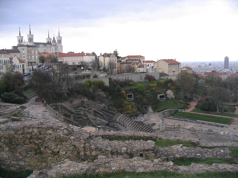 Lyon from Fourvière