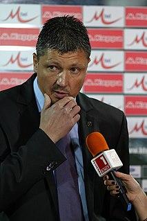 Lyuboslav Penev Bulgarian footballer and manager