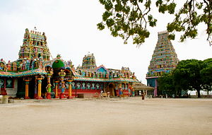 Hinduism in Sri Lanka - Nainativu Nagapooshani Amman Temple