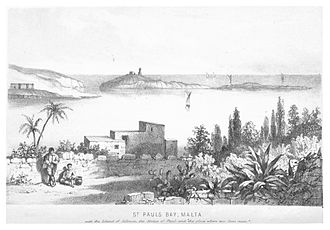 St Paul's Island - View of Saint Paul's Island in 1861