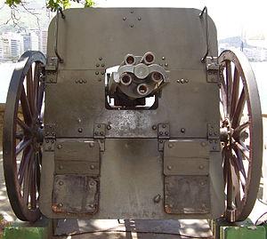 Hotchkiss gun - Image: MHE8