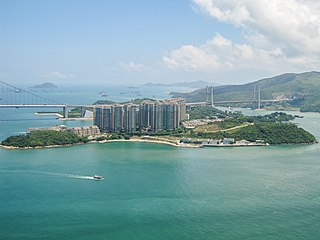 Ma Wan Island in Hong Kong