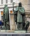 Maastricht, standbeeld tussen het treinstation en de Servaasbrug foto12011-01-30 11.42 (crop1).JPG