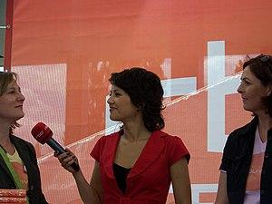 RBB Fernsehen - rbb presenter Madeleine Wehle
