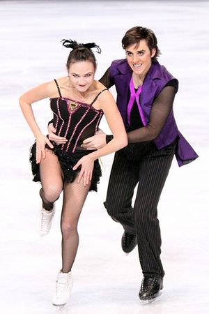 Madison Chock - Chock and Zuerlein at 2010 Trophee Bompard