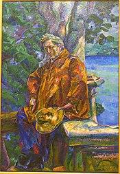 Maestro Busoni by Umberto Boccioni, 1916 - Galleria nazionale d'arte moderna - Rome, Italy - DSC05451.jpg