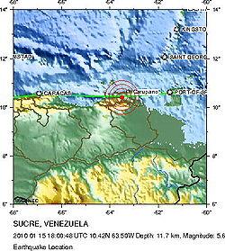 AnexoTerremotos en Venezuela  Wikipedia la enciclopedia libre