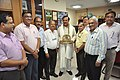 Mahesh Sharma With Anil Shrikrishna Manekar And Other NCSM Senior Officers - NCSM - Kolkata 2017-07-11 3564.JPG