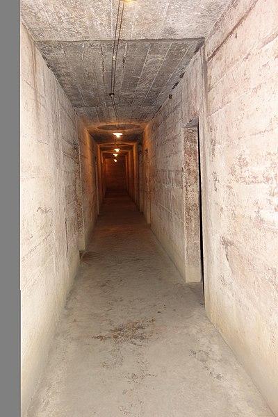 File:Main Corridor, Cave Hospital, Cat Ba Island, Vietnam.jpg