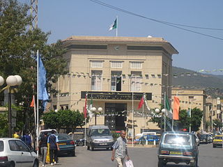 El Kseur Place in Béjaïa, Algeria