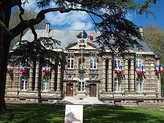 Harfleur - The town hall in Harfleur