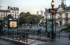 mairie de saint ouen m tro de paris wikip dia. Black Bedroom Furniture Sets. Home Design Ideas