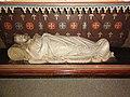 Mairieux (Nord, Fr) église, détail autel, Christ au tombeau.JPG