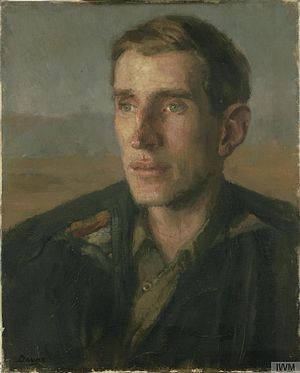 Anthony Devas - Major Wilfred Thesiger, (1944), (Imperial War Museum)