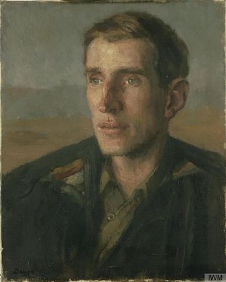 Wilfred Thesiger - Image: Major Wilfred Thesiger, DSO (Art.IWM ART LD 3836)