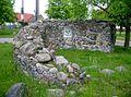 Mallnow Adonisquelle Roland Rother Feldsteinmauer.JPG