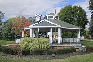 Malta, New York - Malta Corners, US Route 9 and NY Route 67, Gazebo in 2013