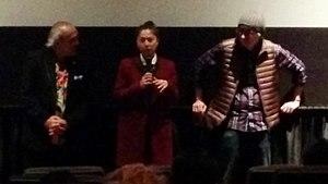 Ayako Fujitani - Fujitani (center) with Pepe Serna and Dave Boyle