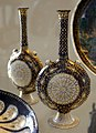 Manifattura veneziana, fiasche in rame smaltato e dorato, xv secolo.jpg