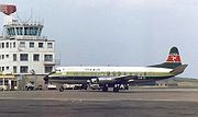 Manx Airlines Vickers Viscount at IoM Ronaldsway