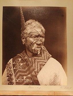 Maori Chief, New Zealand, 1891 (793bc21f-8278-4879-ae70-174c554e3302)