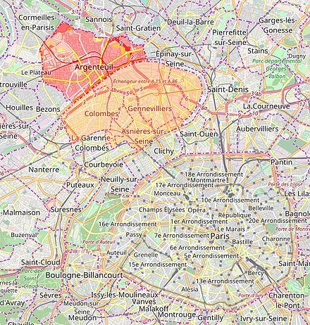 Argenteuil val d 39 oise wikip dia for Garage paris ouest argenteuil