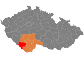 Image illustrative de l'article District de Prachatice
