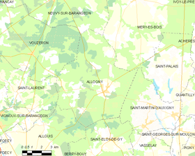 Map commune FR insee code 18004.png