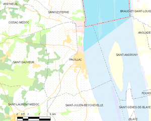 Map commune FR insee code 33314.png