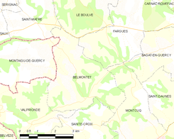 Map commune FR insee code 46025.png