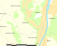 Map commune FR insee code 95628.png