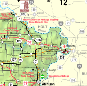 Visitor Attractions In Doniphan County Kansas